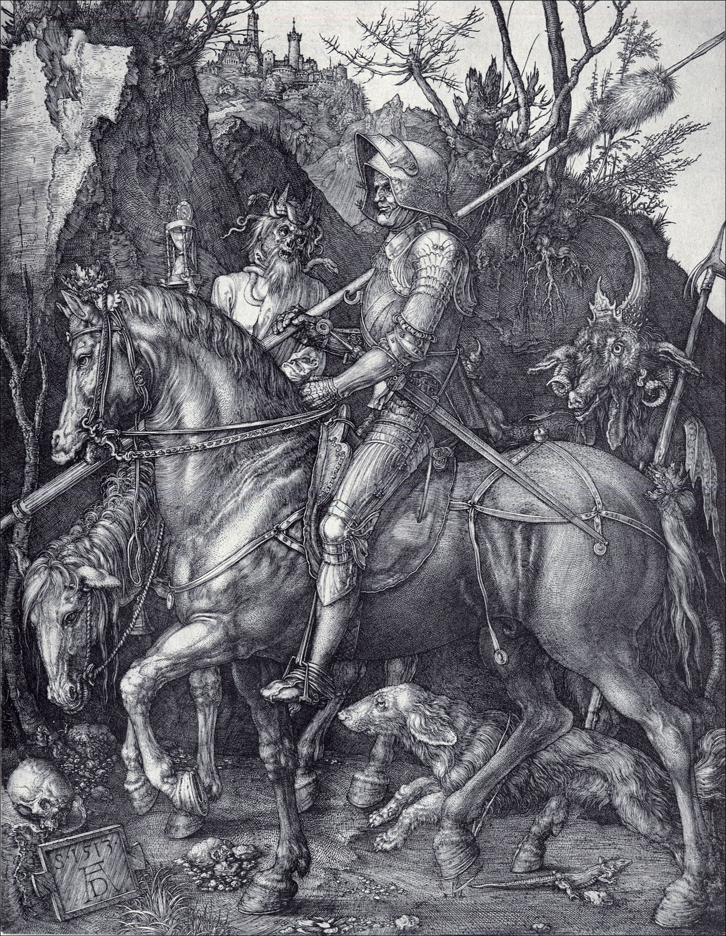 the knight death and the devil The knight, death and the devil iconographic collections keywords: albrecht durer.
