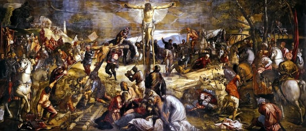 The Crucifixion by Tintoretto, 1565