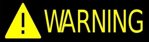 horiz warning banner
