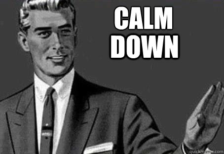 CHCEM PENY! Calm-down