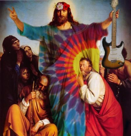 hippy Jesus
