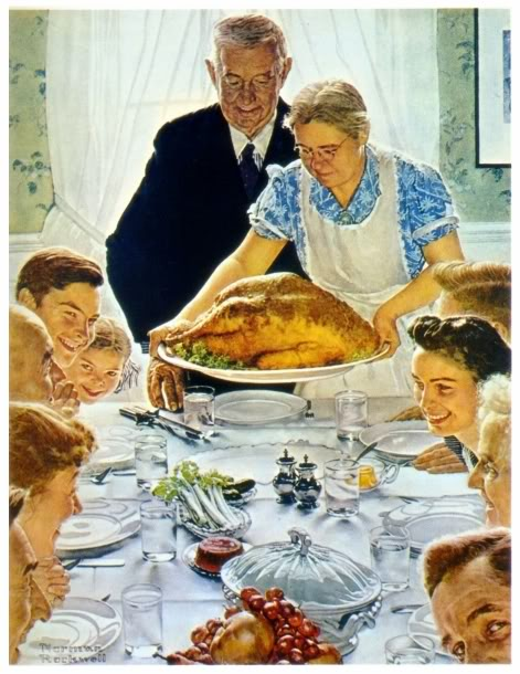 Norman-Rockwell-Thanksgiving-Pictures